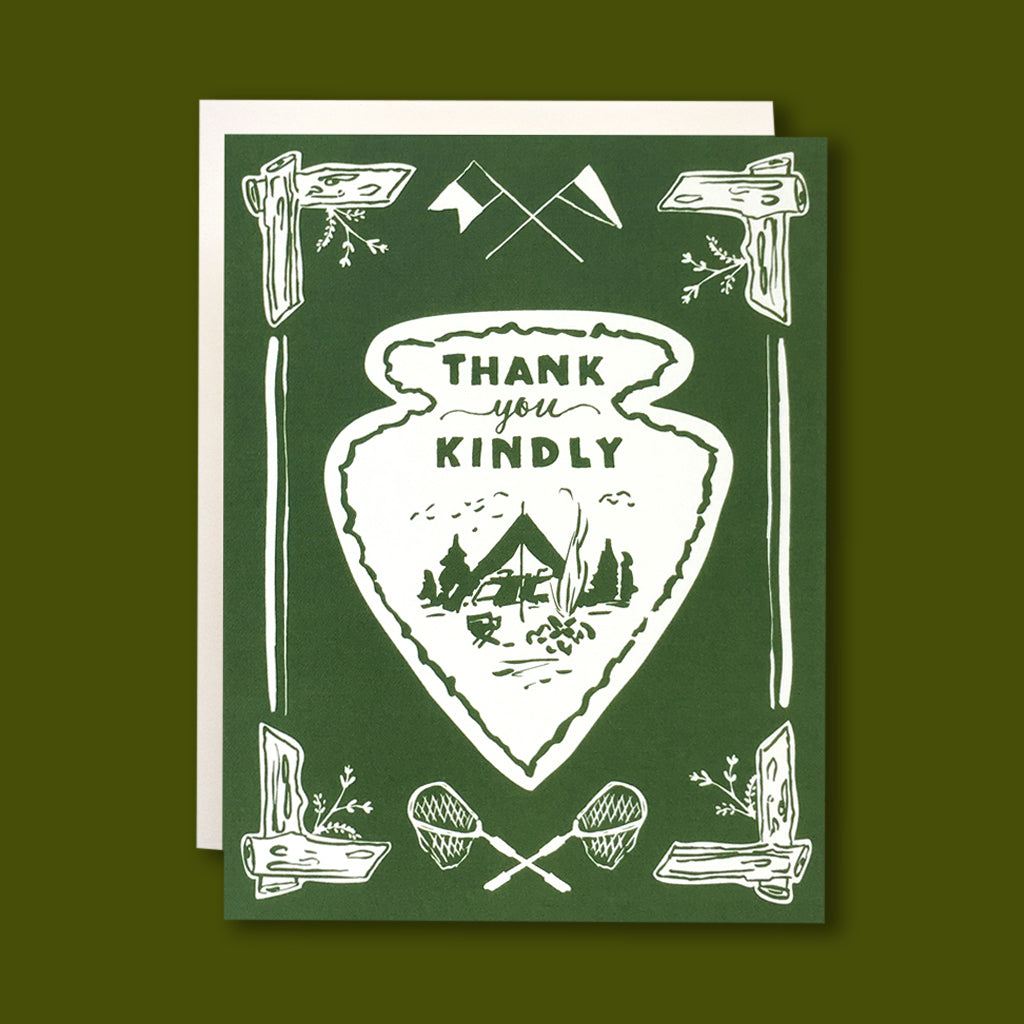 Arrowhead Thank You Card