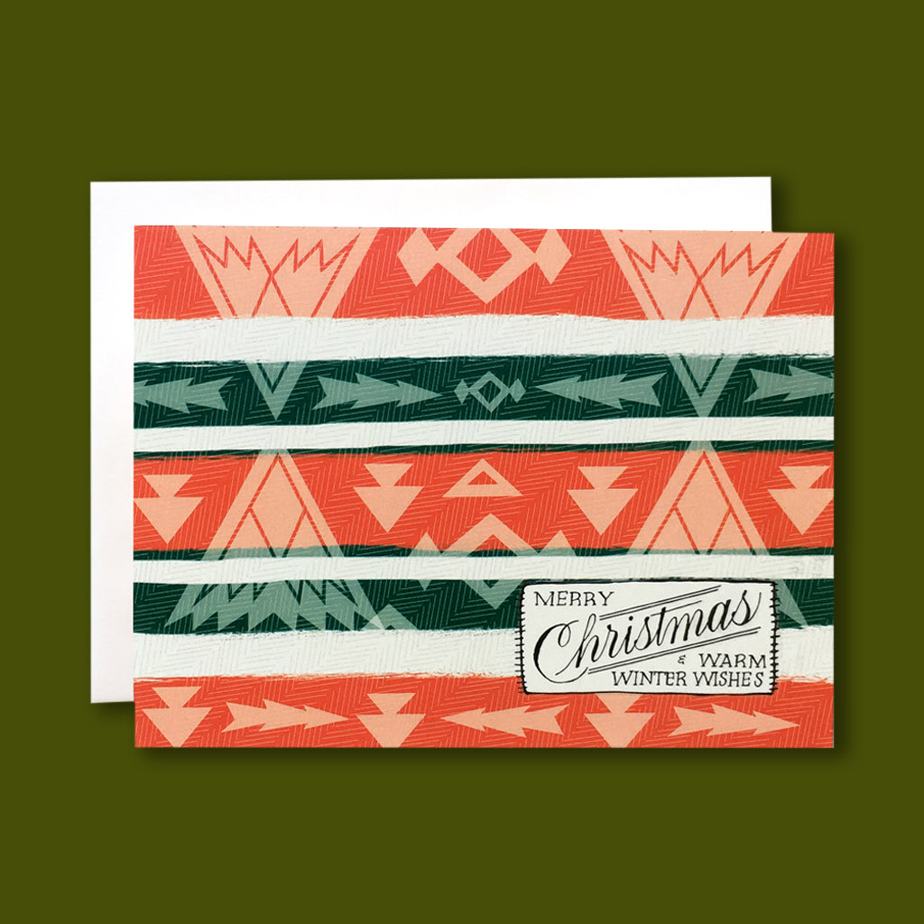 Camp Blanket Christmas Card