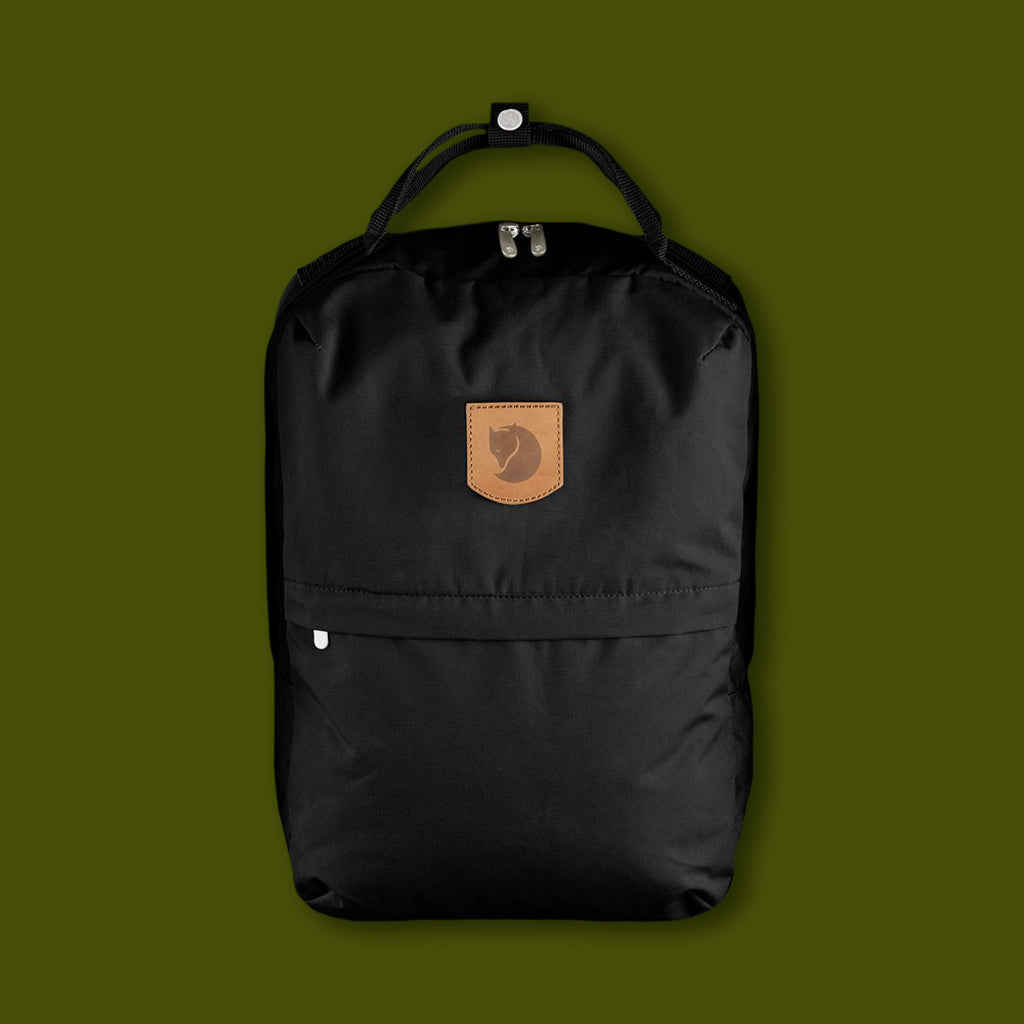 Greenland Zip Large Bag - Black