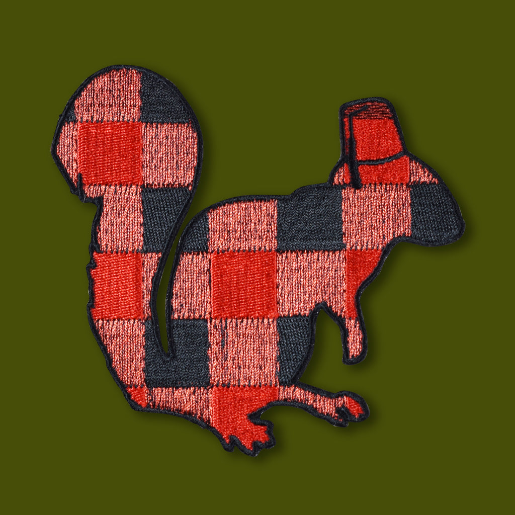 Buffalo Squirrel Patch