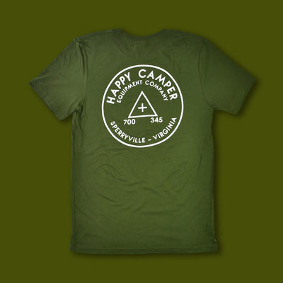 Benchmark Tee - Green & White