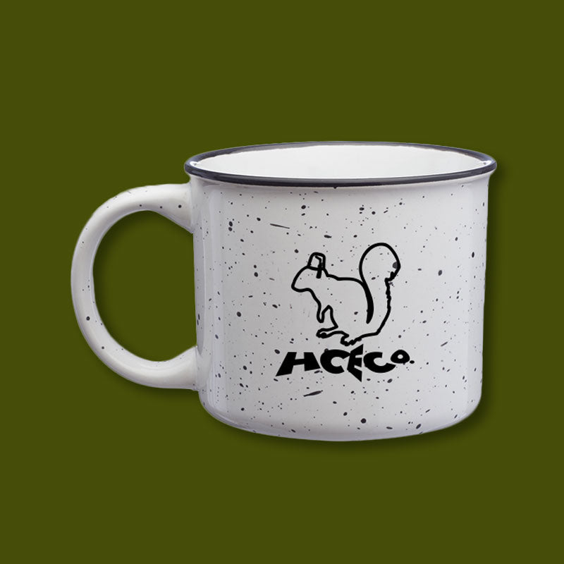 Ceramic Camp Mug - White