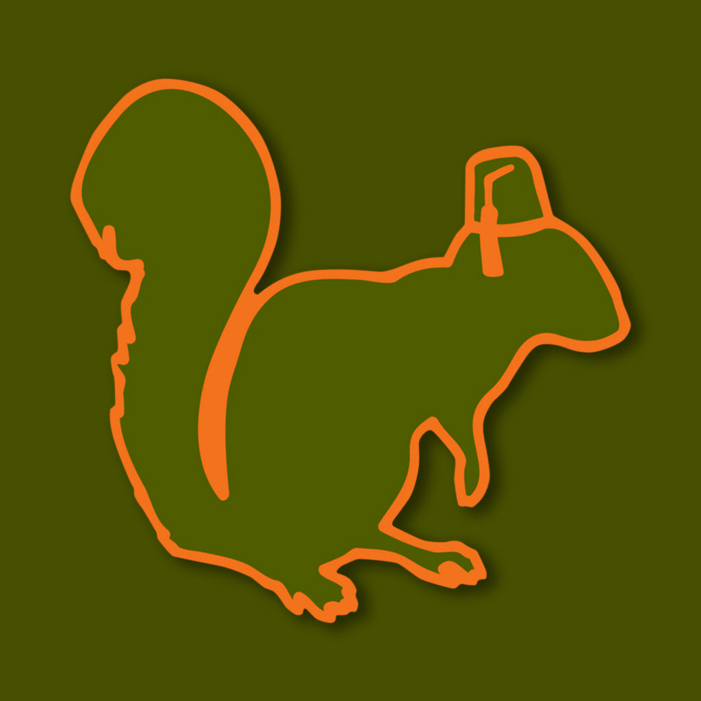 Official Mascot Squirrel Sticker