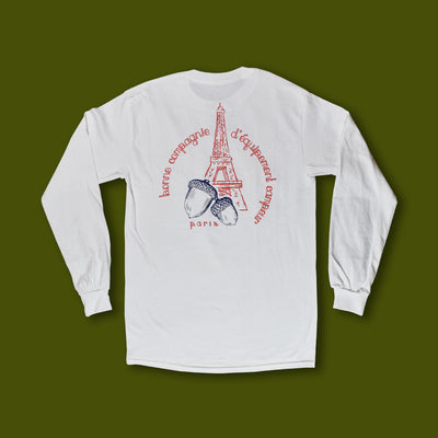 Squirrel in Paris Long Sleeve Tee