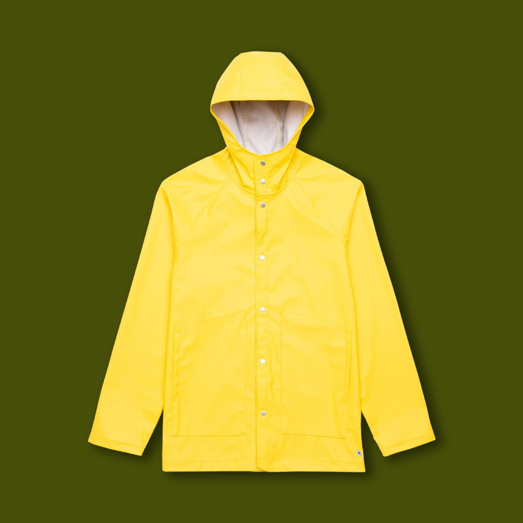 Classic Rainwear Jacket - Yellow
