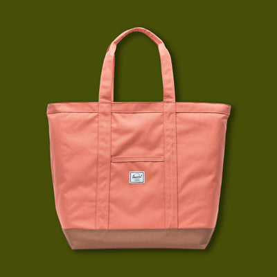 Bamfield Tote Mid - Apricot & Brown