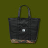 Bamfield Tote Mid - Black & Camo