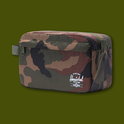 Toiletry Travel Bag - Woodland Camo