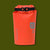 Dry Bag 2 Liter - Vermillion Orange