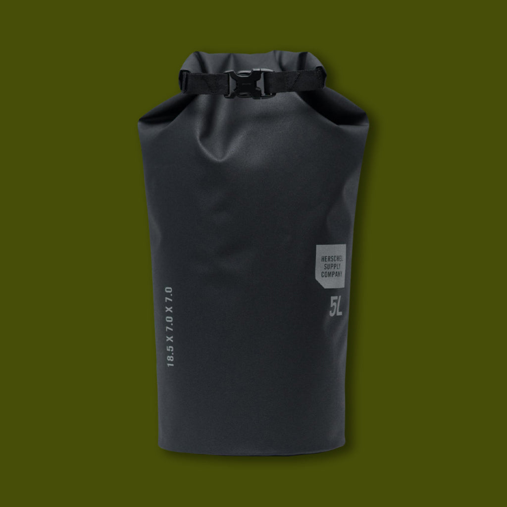 Dry Bag 5 Liter - Tarpaulin Black