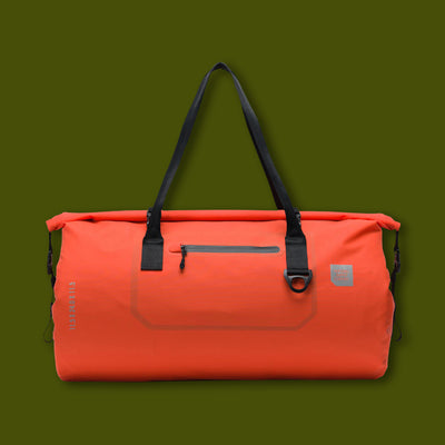 Coast Duffle - Tarpaulin Vermillion Orange