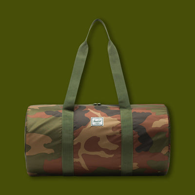 Packable Duffle - Woodland Camo