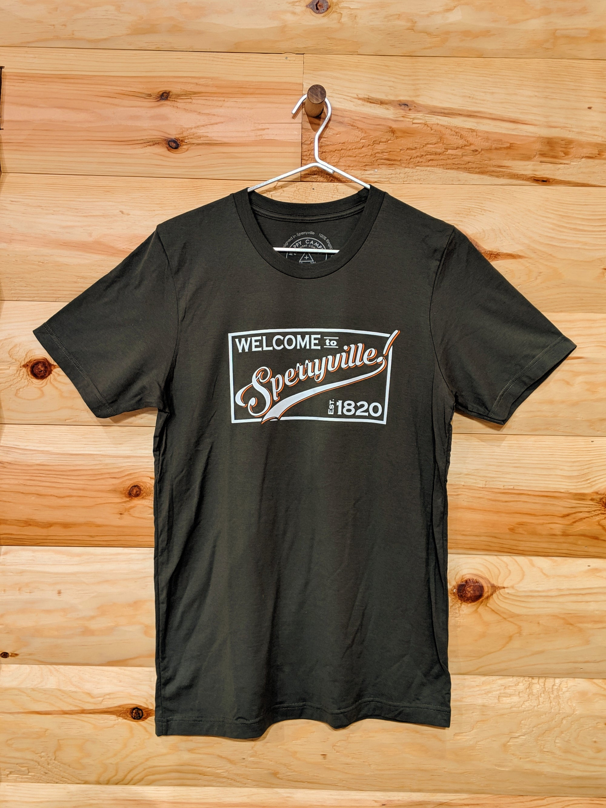 MENS Welcome to Sperryville Tee 2019