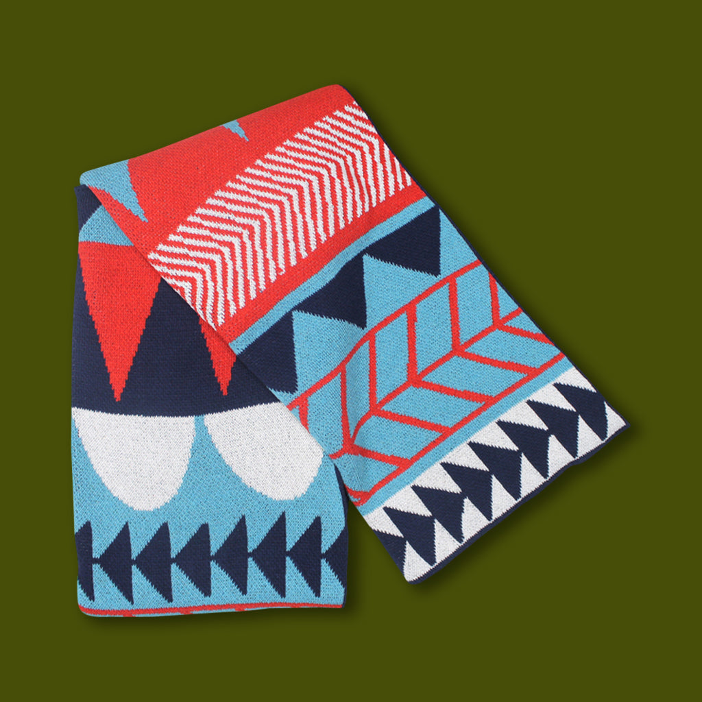 Cotton Cabin Throw - Kenichi