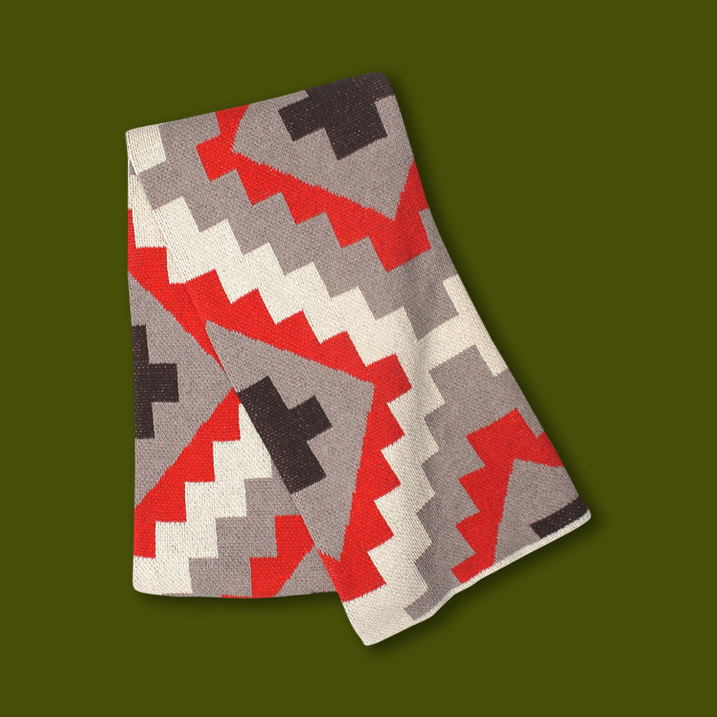 Cotton Cabin Throw - Kilim