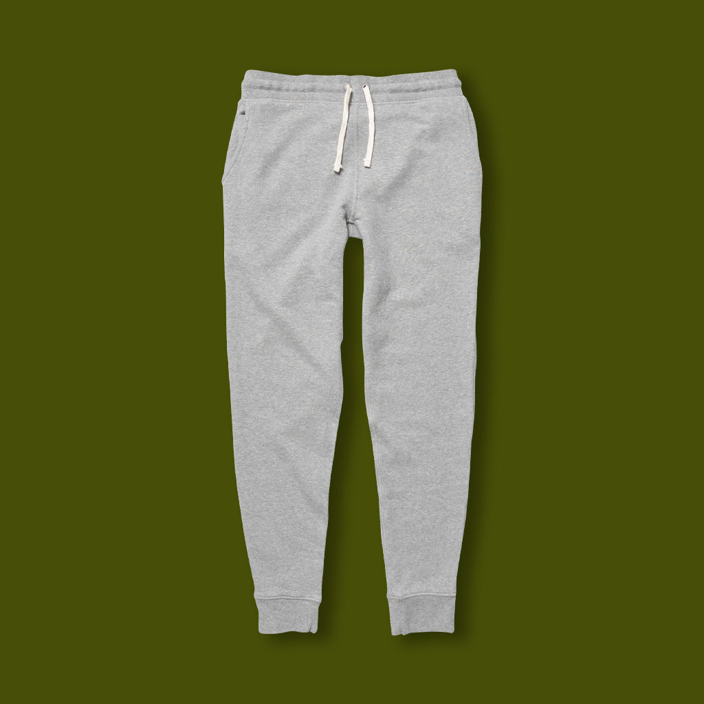 French Terry Sweatpant - Grey