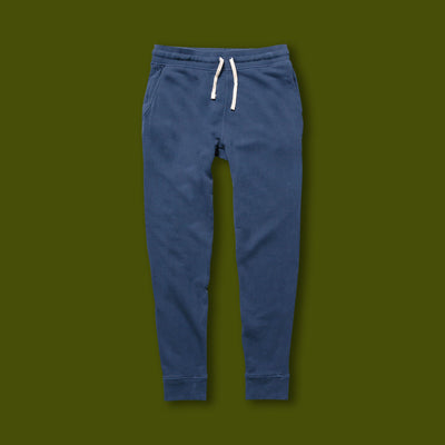 French Terry Sweatpant - Navy