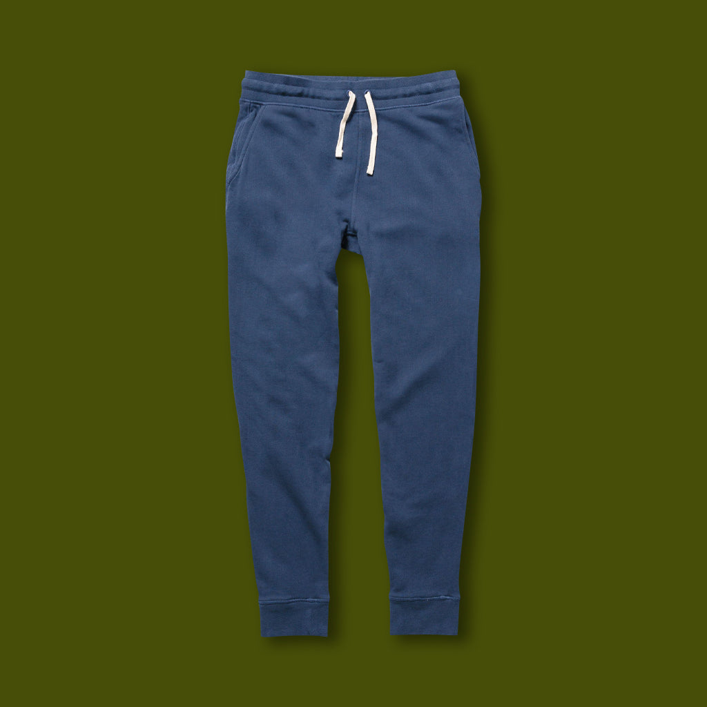 Women's French Terry Sweatpant - Navy