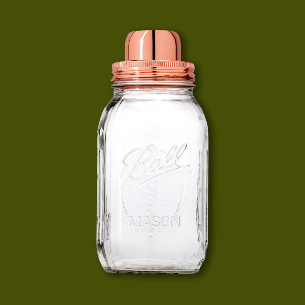 Copper Lidded Mason Shaker by W&P Design