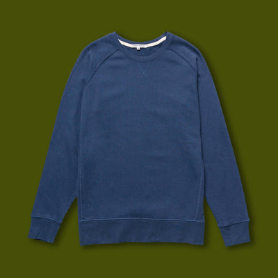 French Terry Sweatshirt - Navy