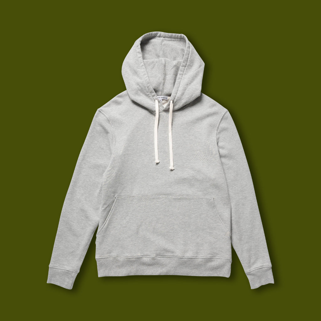 French Terry Hoodie - Grey