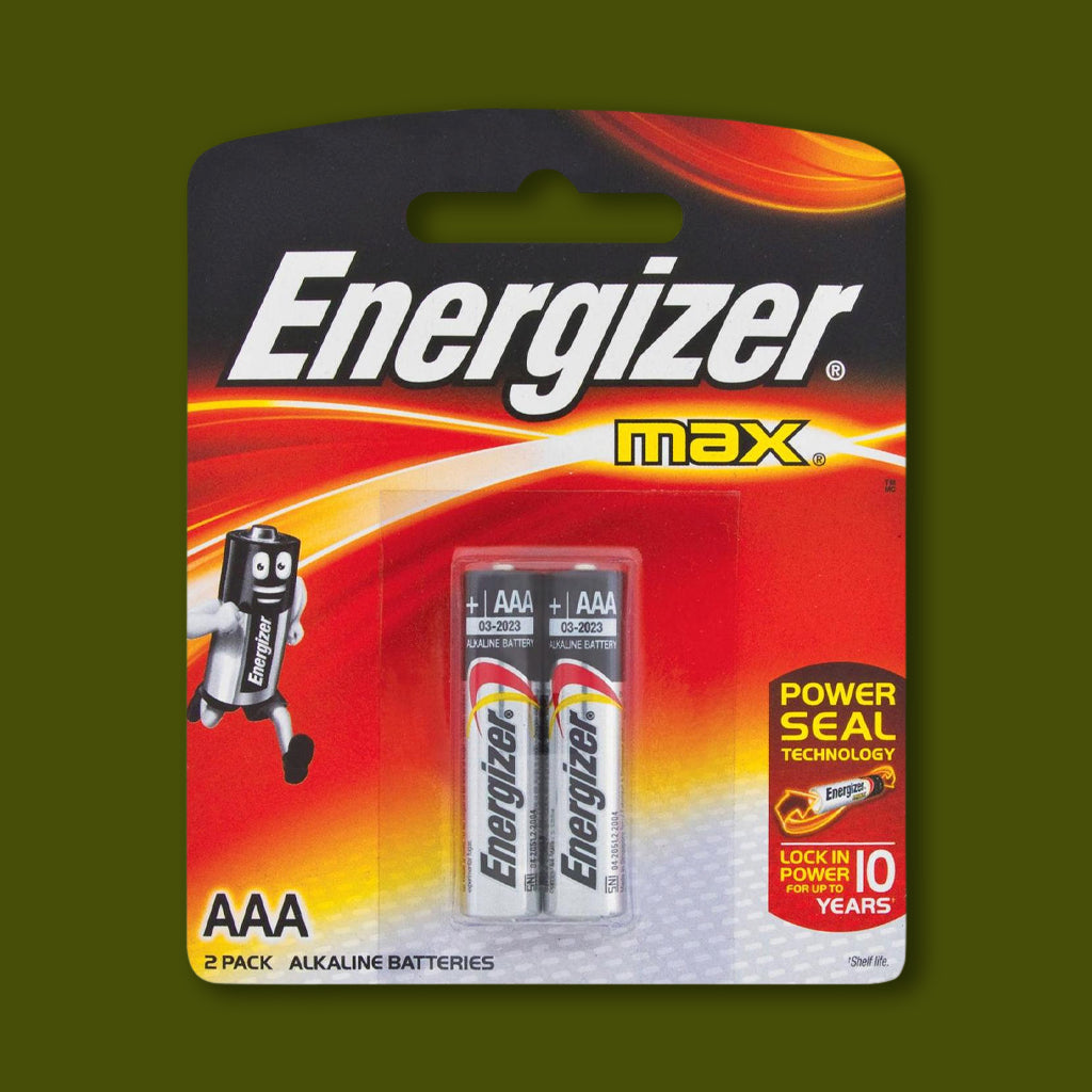 Batteries - Size AAA - 2 pack