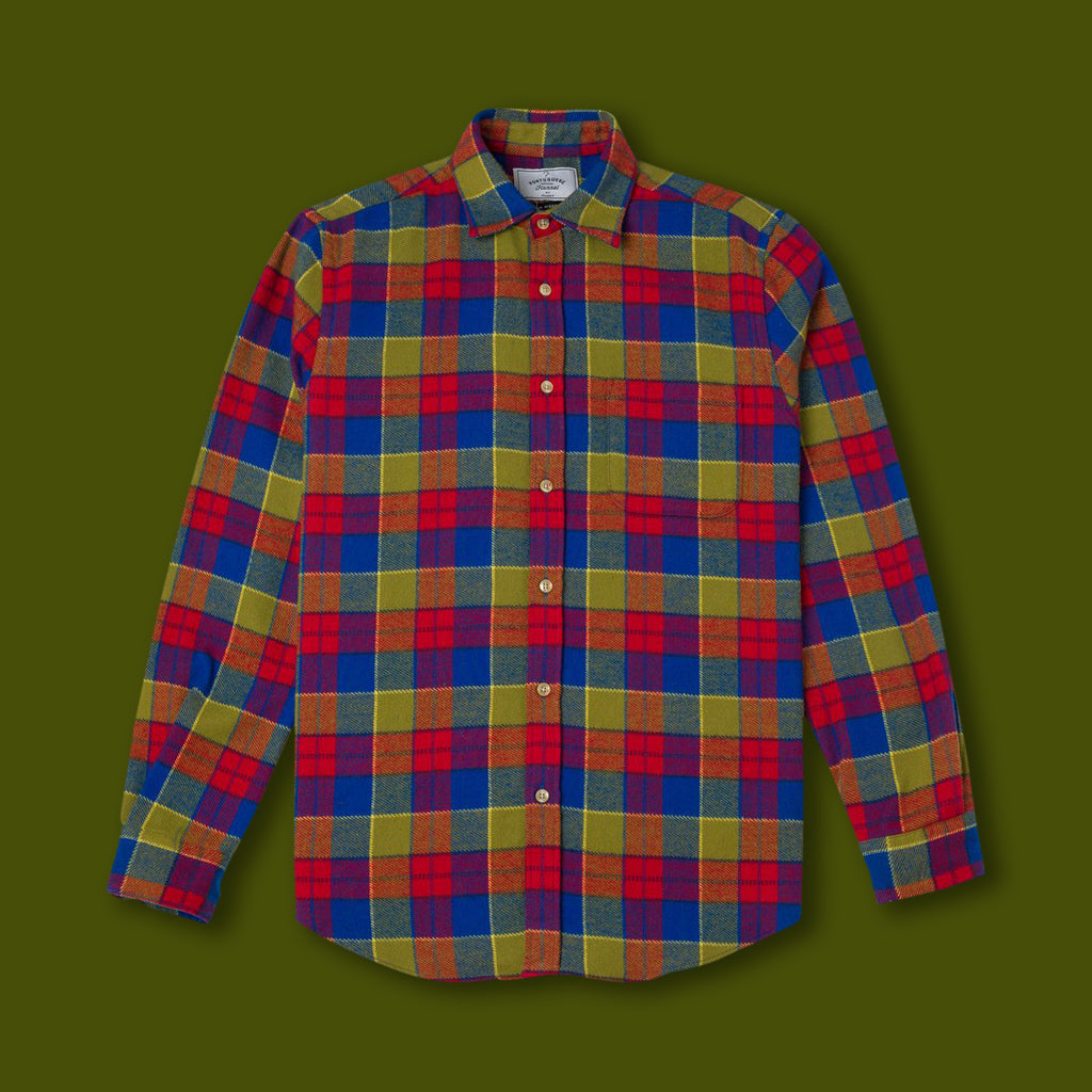 Nebraska Check Flannel Shirt