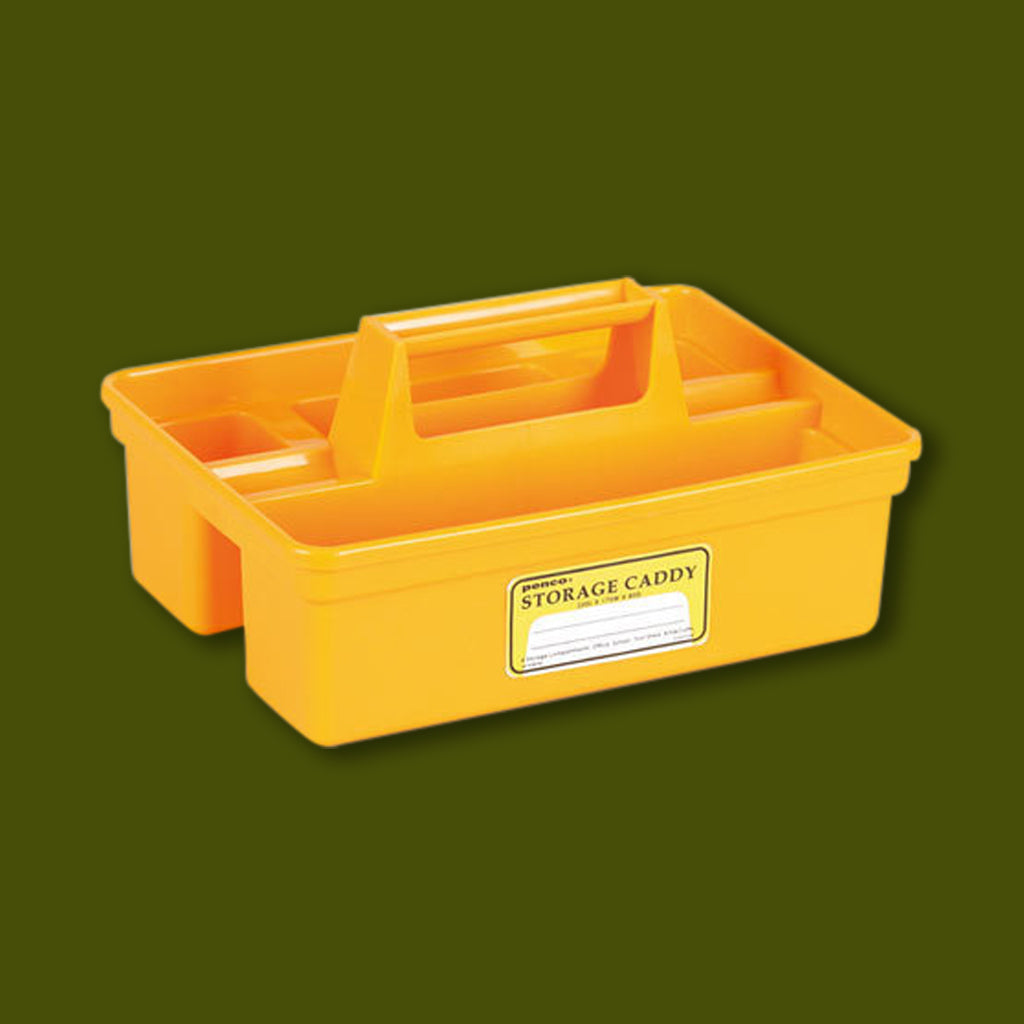 Storage Caddy Large - Yellow