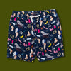 Hoeckel Print Beach Shorts