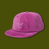 Beach cord Polo Hat - Magenta