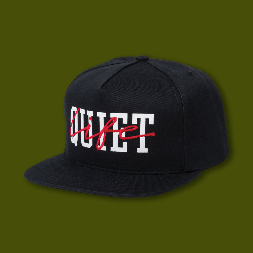 Layered Snapback Hat