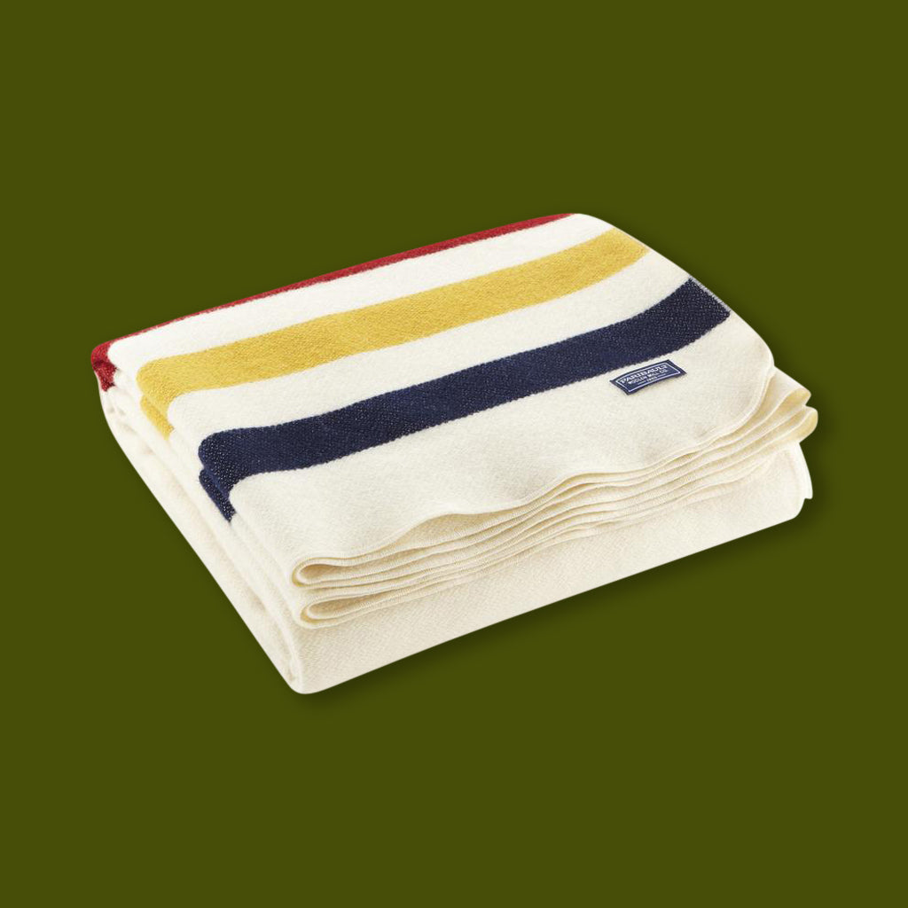 Revival Stripe Throw - Bone / Mutli-Stripe