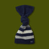 Revival Stripe Wool Scarf - Navy
