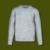 Rolled Edge Sweater - Cloud Grey