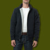 Men's Sherpa Lined Sweater Jacket