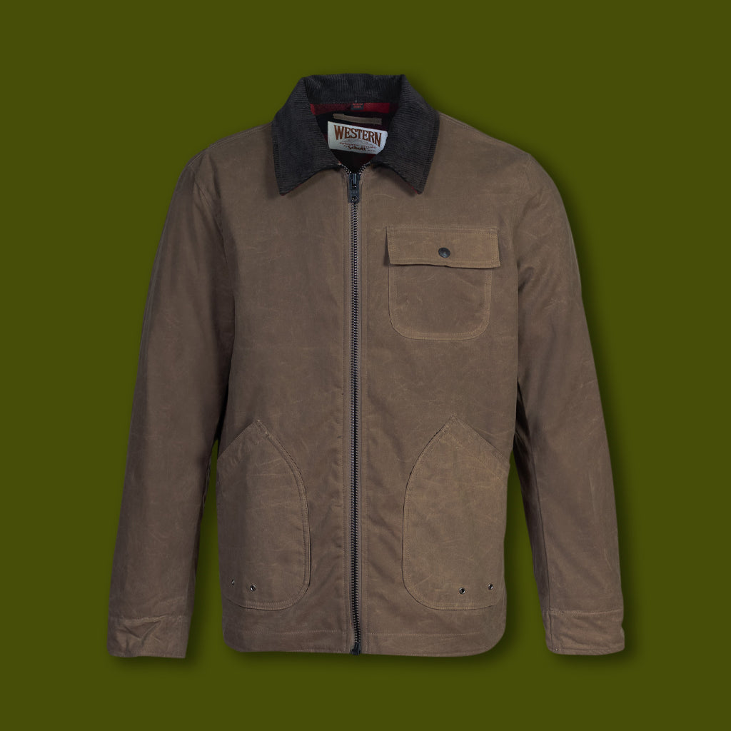 Men's Waxed Cotton Chore Jacket