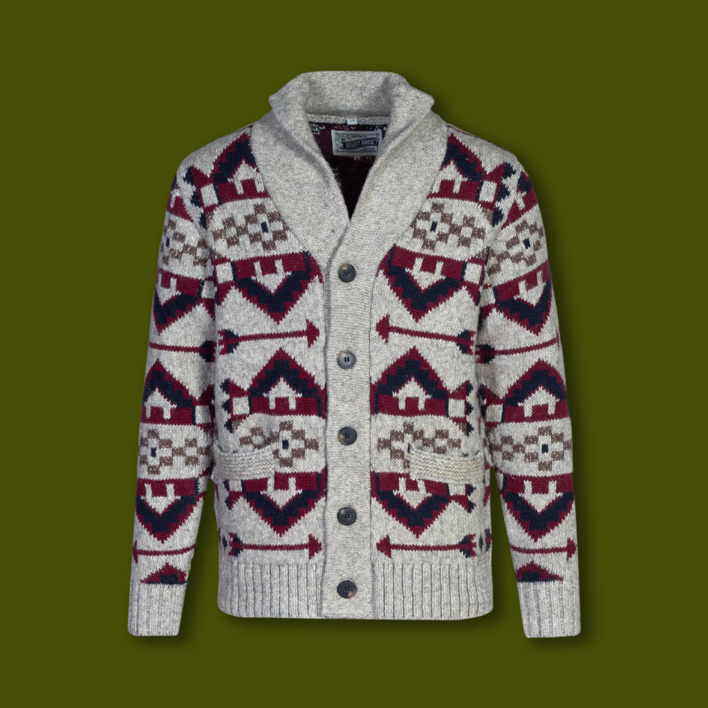 Southwestern Motiff Cardigan Sweater
