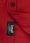 Men's Wool CPO Shirt - Red