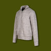 Fleece Lined Sweater Jacket - Limestone