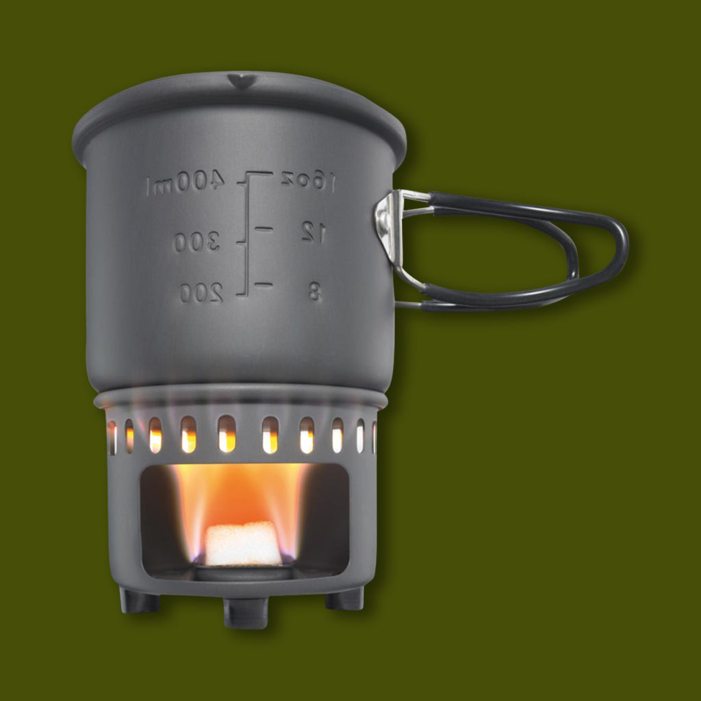 Esbit Solidfuel Cookset