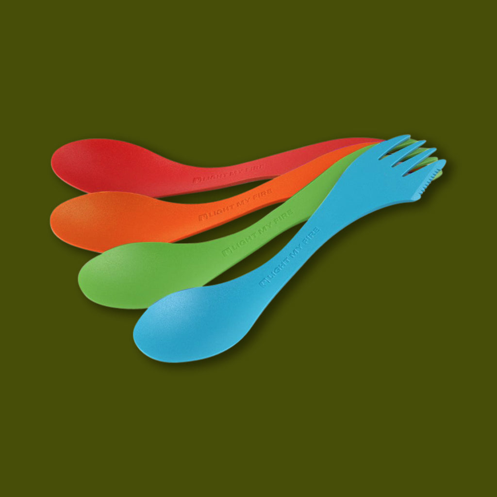 Lite My Fires of Sweden: Spork Four Pack