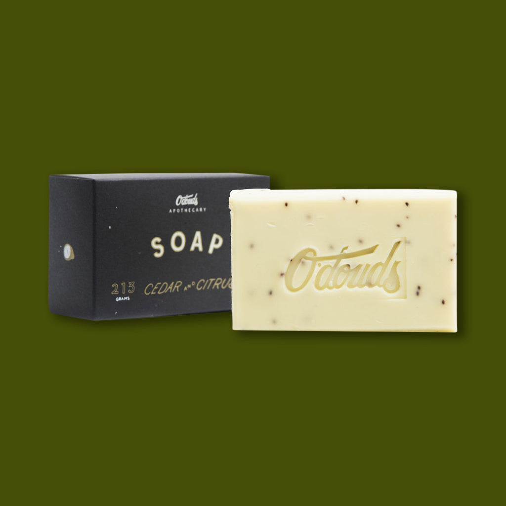 Bar Soap - Cedar & Citrus Soap