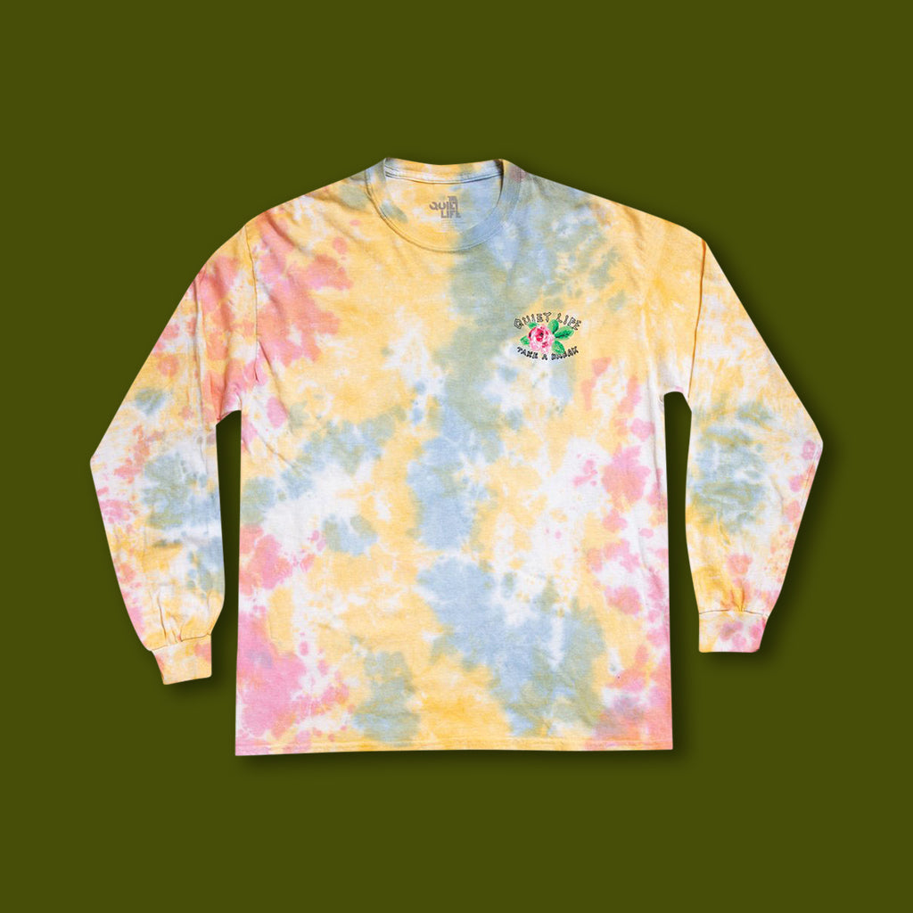 Take a Break Long Sleeve - Tie Die