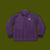 Smiley Coach Jacket - Purple