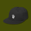 Shhh Felt Polo Hat - Black