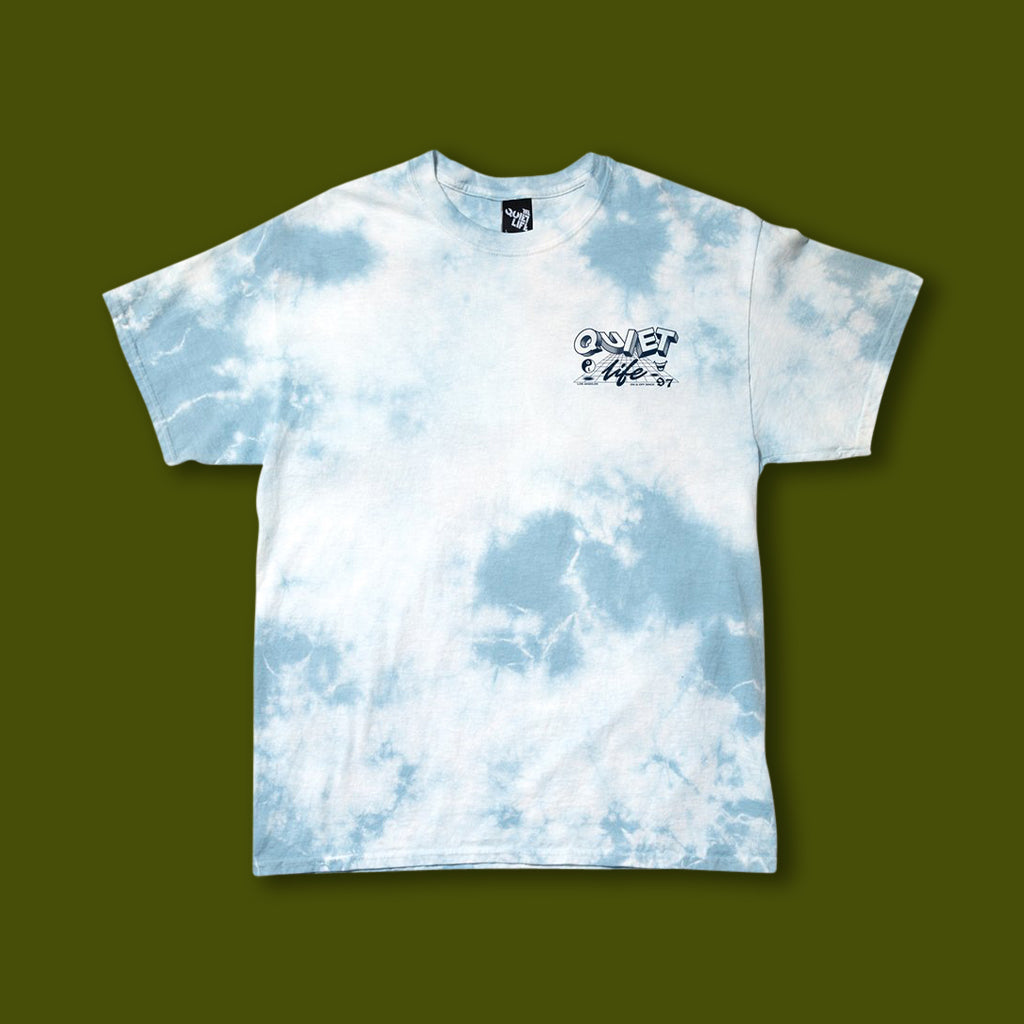 Grid Tee - Blue Wash
