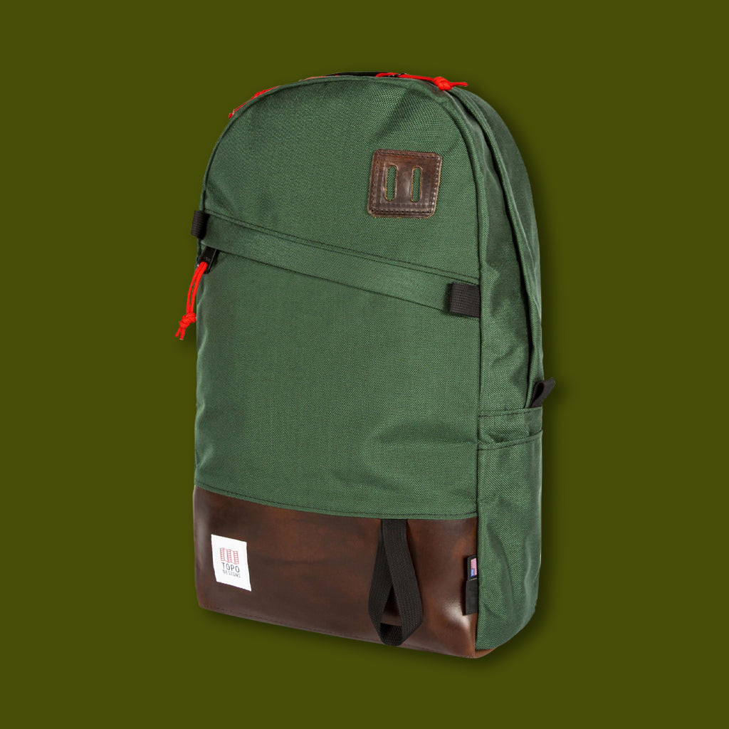 Daypack - Forest & Horween