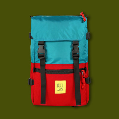 Rover Pack - Turquoise & Red