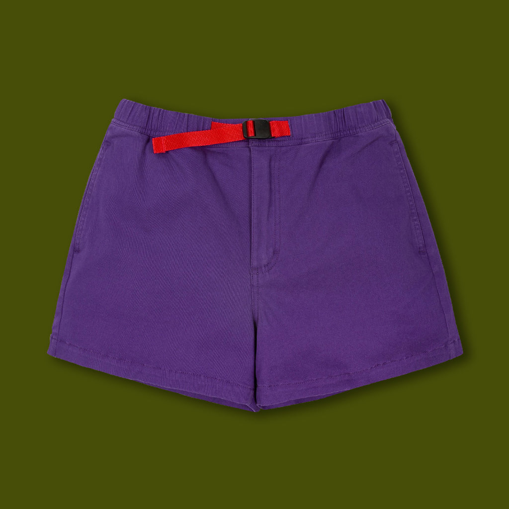 Women's Mountain Shorts - Purple
