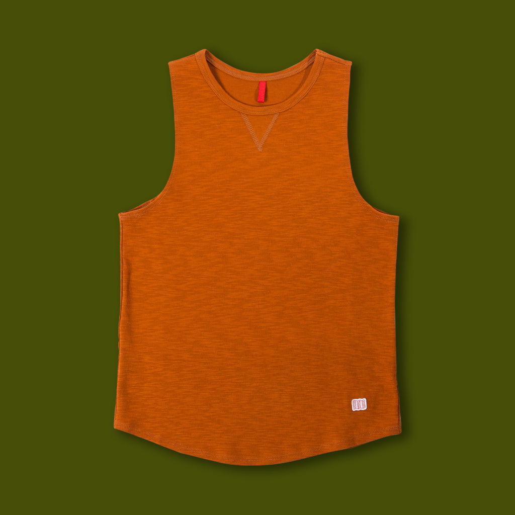 Women's Mountain Tank - Clay
